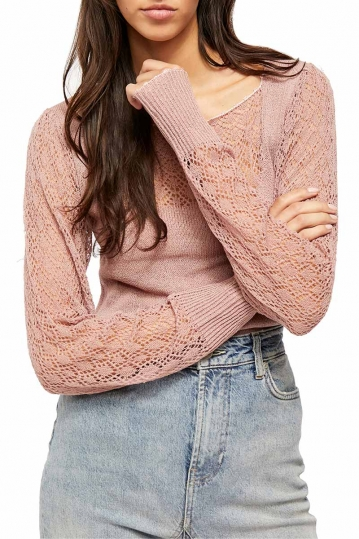 Free People crystalized sweater