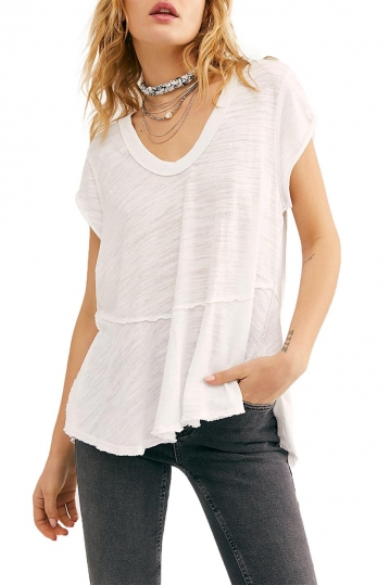 Free People sweetness oversize tee