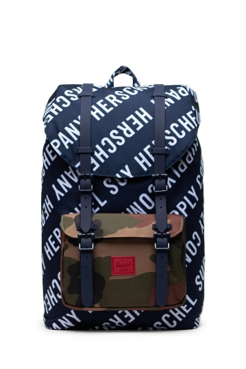 Herschel Supply Co. Little America mid volume backpack roll call peacoat/woodland camo