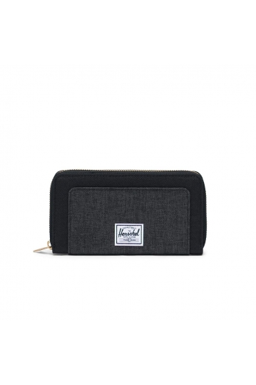 Herschel Supply Co. Thomas RFID wallet black/black crosshatch