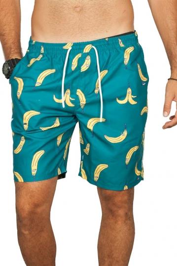 Lousy Livin beach shorts Bananas