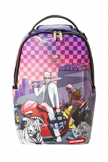 Sprayground backpack The drop off part 2