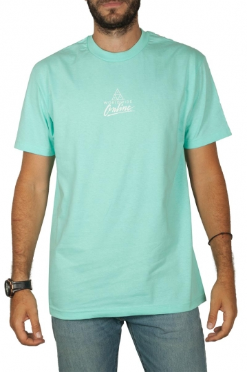 Huf t-shirt Forbidden Domain mint
