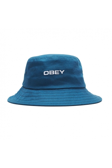 Obey Luna bucket hat navy