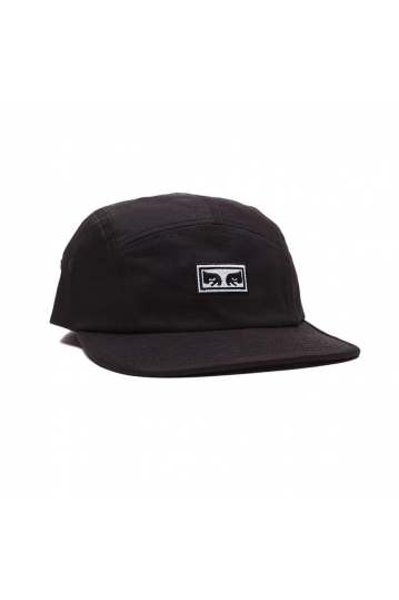 Obey Eyes 5 panel hat black