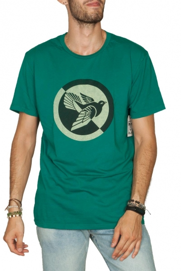 Obey Split Dove superior t-shirt royal teal