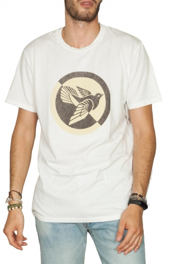 Obey Split Dove superior t-shirt white