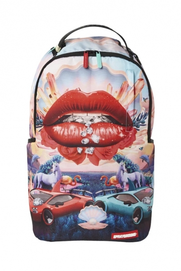 Sprayground Lips and Famous backpack