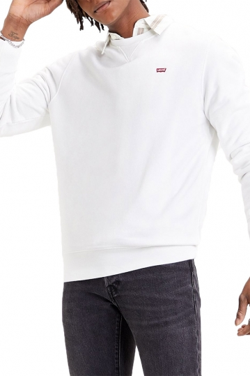 Levi's® new original crew sweatshirt white