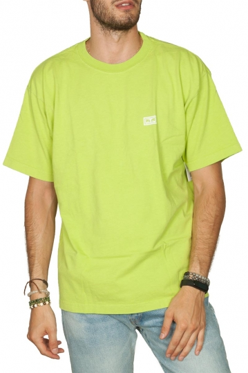 Obey Eyes 3 heavyweight box t-shirt lime