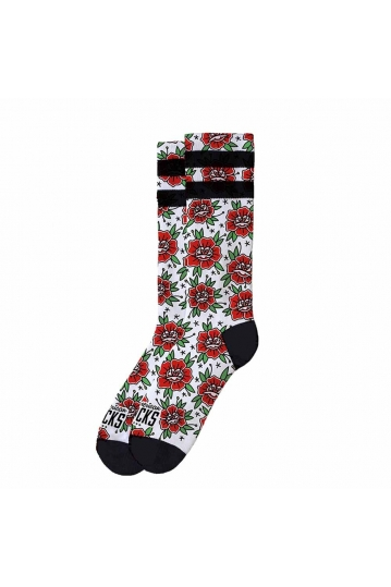 American Socks socks n' roses - mid high Signature