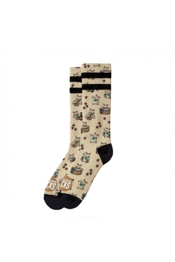 American Socks Maneki-Neko - mid high socks