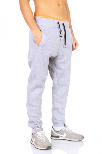 Young & Rich joggers light grey