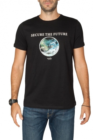 Bigbong Secure the Future print t-shirt black