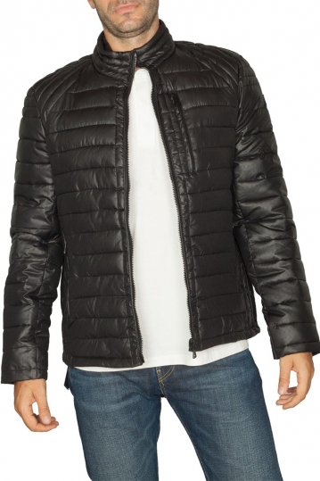 Biston quilted jacket black