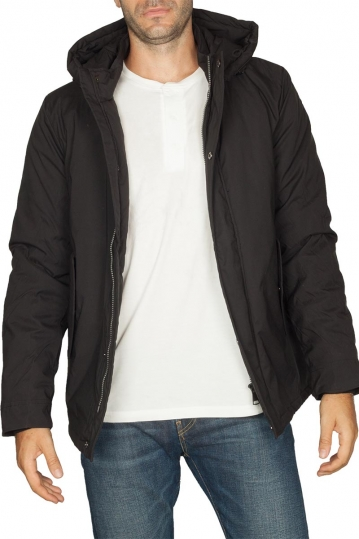 Biston hooded jacket black