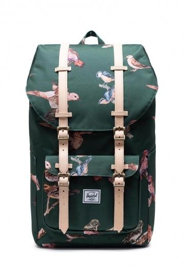 Herschel Supply Co. Little America backpack dark green birds