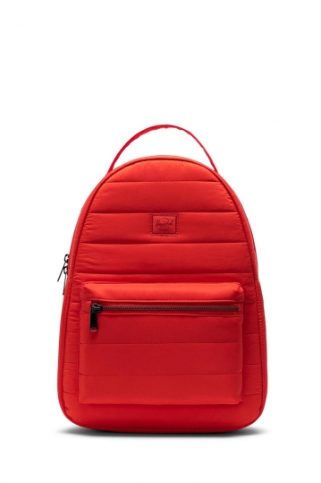 Herschel Supply Co. Nova mid volume backpack fiery red quilted