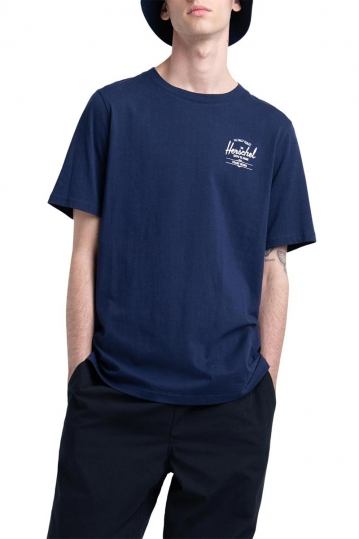 Herschel Supply Co. men's classic logo tee peacoat