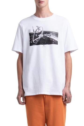 Herschel Supply Co. men's V8 memories tee white