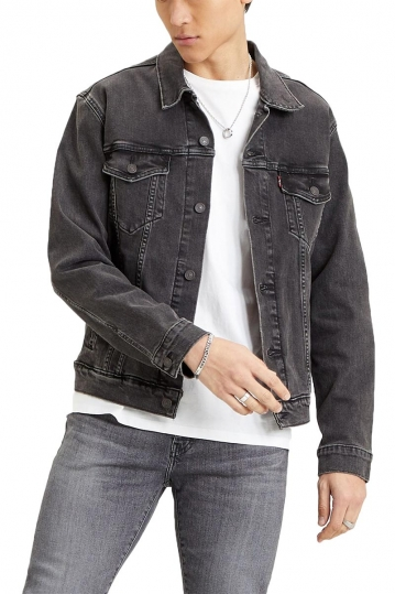 Levi's® trucker jacket - raider trucker black