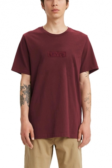 Levi's® relaxed fit t-shirt embroidered - reflective port