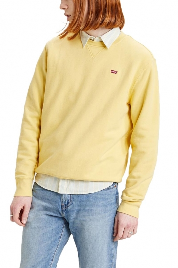 Levi's® new original crew sweatshirt dusky citron