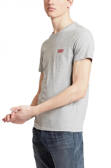 Levi's® crewneck graphic t-shirt heather grey