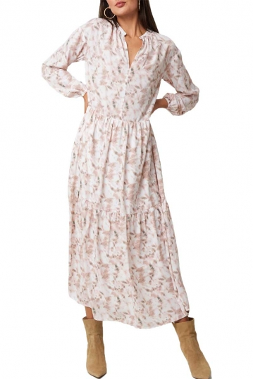 Rut & Circle Elsa long dress