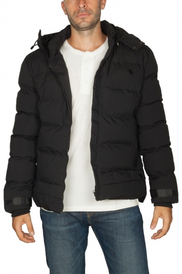 Splendid puffer jacket black with hood