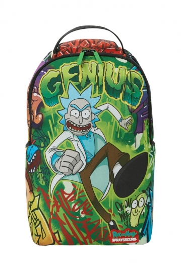 Sprayground Rick and Morty Genius backpack