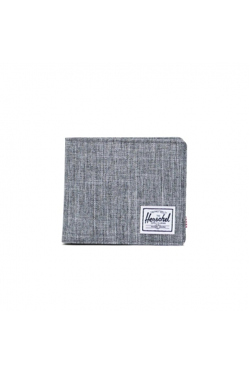 Herschel Supply Co. Roy coin wallet XL RFID raven crosshatch