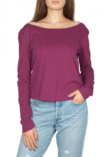 Noah boat neck top purple - Lilliput
