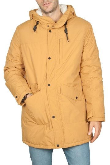 Splendid men's hooded parka ochre