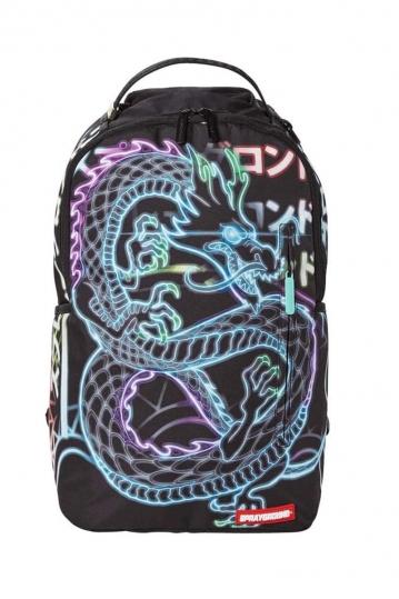 Sprayground Neon Dragon backpack