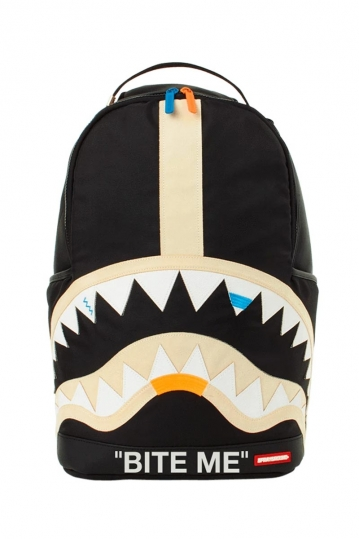Sprayground Bite me Shark backpack black