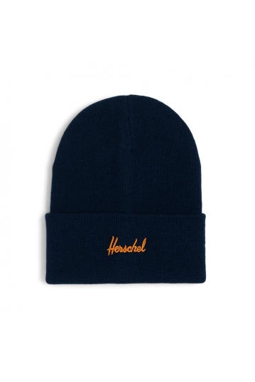 Herschel Supply Co. Aden beanie peacoat/pumpkin spice