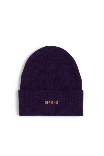 Herschel Supply Co. Elmer ID beanie blackberry wine/pumpkin spice