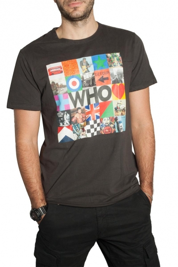 Amplified Who by The Who t-shirt charcoal