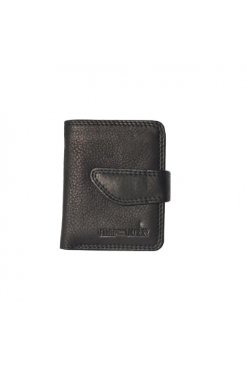 Hill Burry leather wallet black