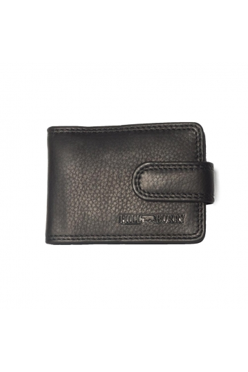 Hill Burry leather card holder black - RFID
