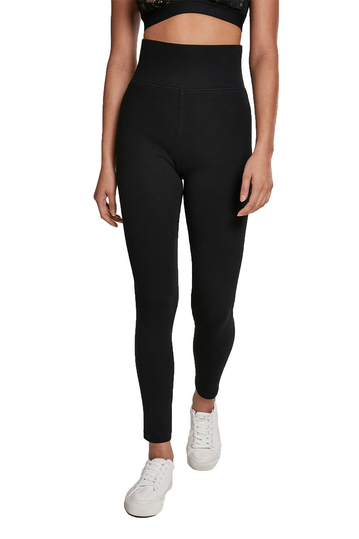 Urban Classics high waist leggings black