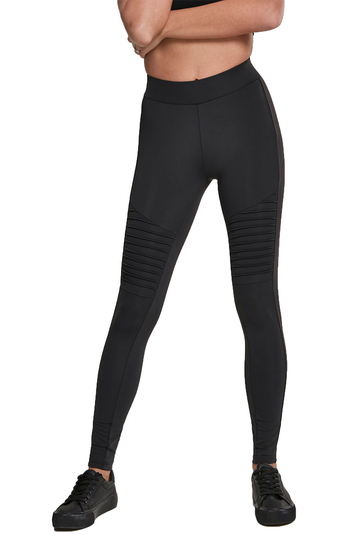 Urban Classics biker leggings black