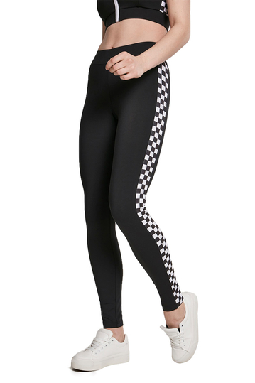 Urban Classics side check leggings black