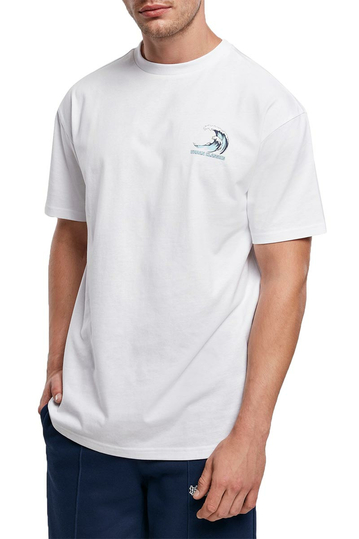 Urban Classics big wave t-shirt