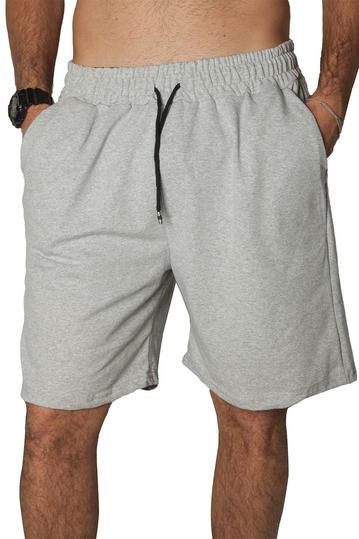 French Terry shorts grey melange