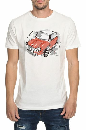 Bigbong Mini Cooper t-shirt white