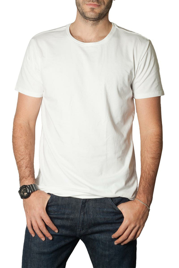 Levi's® solid crew t-shirt white