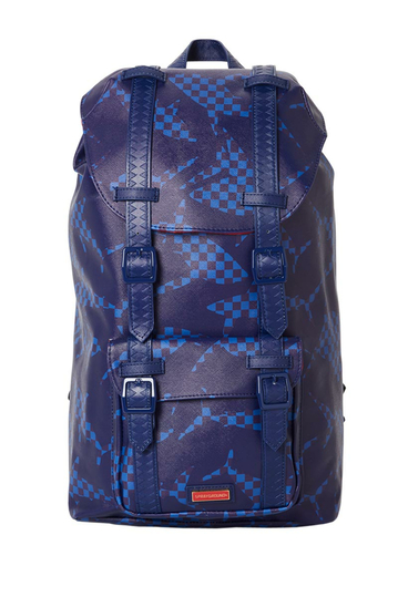 Sprayground The Hills Shark pattern backpack blue