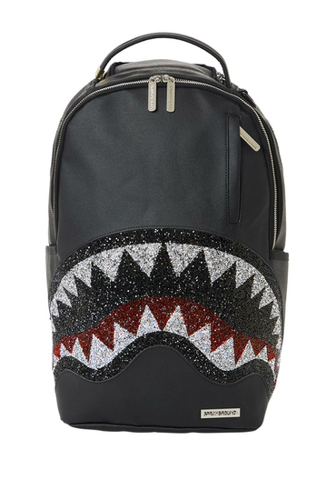 Sprayground Trinity 2.0 crystal DLX backpack black